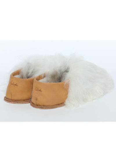Pearl White Express Slippers