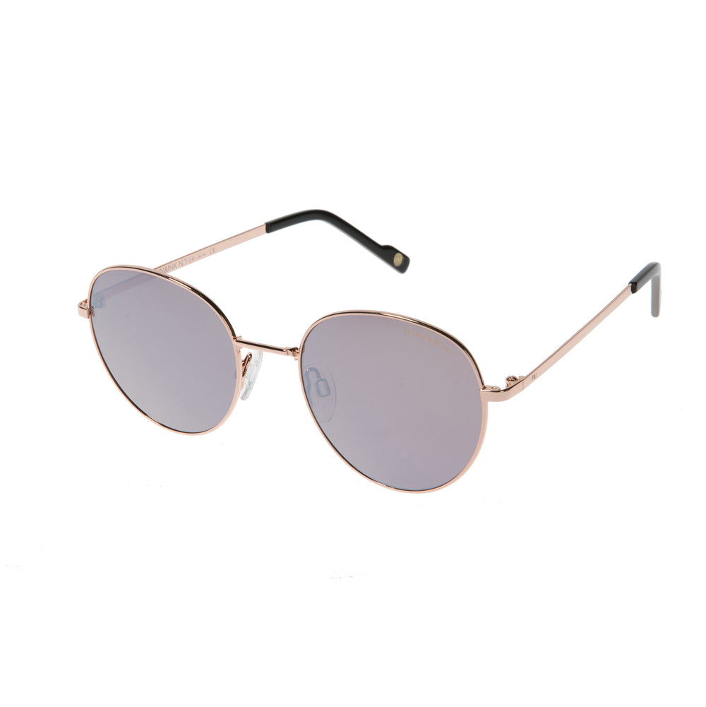 816- shiny rosé gold / lens brown with mirror