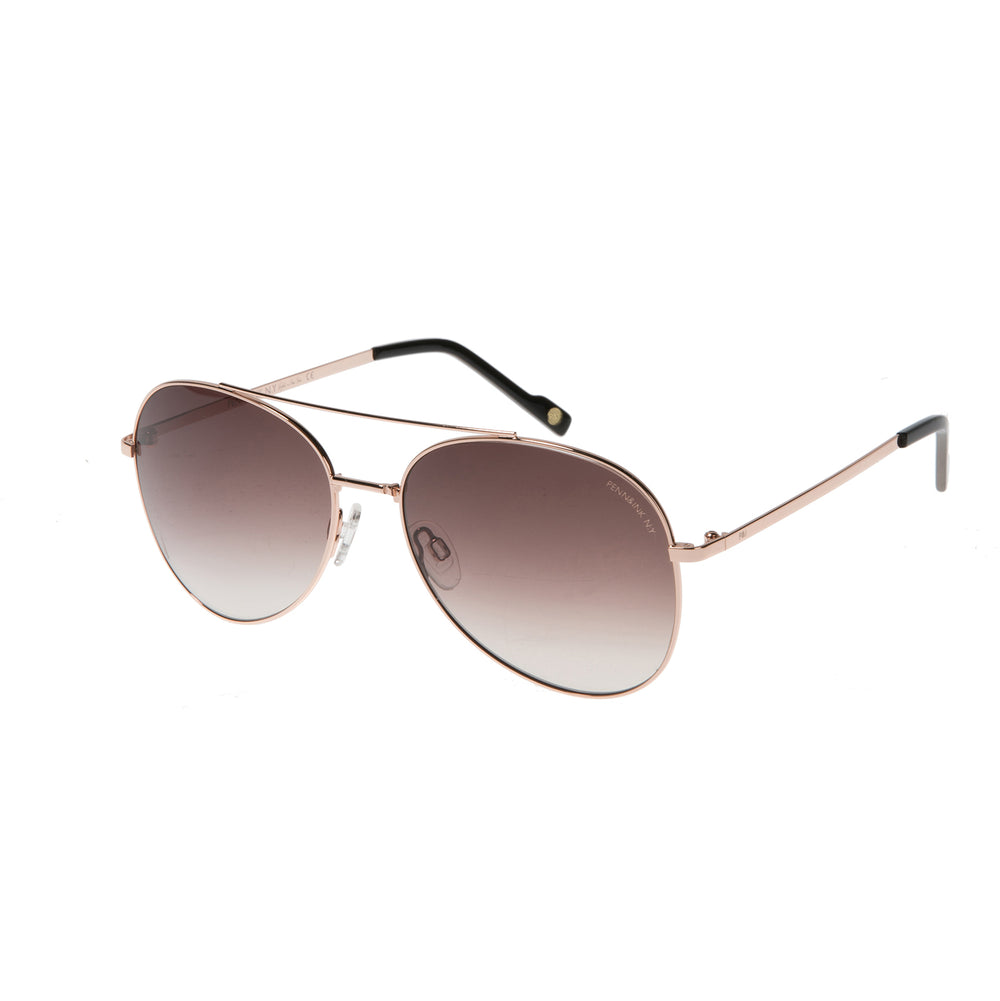 816- rosé gold /  lens brown with mirror