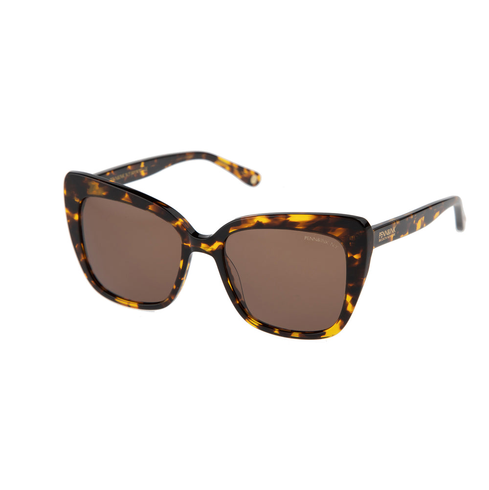 833- tortoise / lens brown