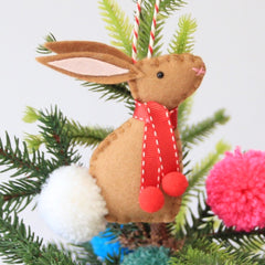 Rabbit Christmas Decoration
