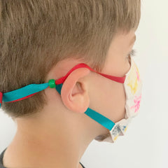 Child Mask with bead to tighten around the ears