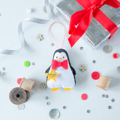 Miss Shelly Designs Penguin Christmas Decoration