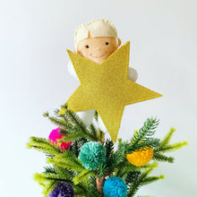 Load image into Gallery viewer, Bespoke Felt Christmas Tree topper