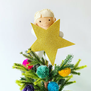 Bespoke Felt Christmas Tree topper