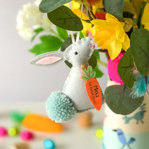 Easter Bunny Personalised Decoration