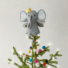 Load image into Gallery viewer, Elephant Christmas Tree Topper
