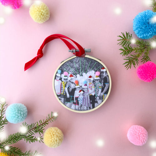 Personalised Photo Keepsake Christmas Decoration
