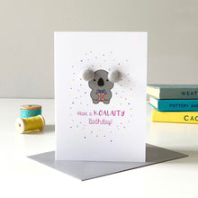 Load image into Gallery viewer, Koala Birthday Card