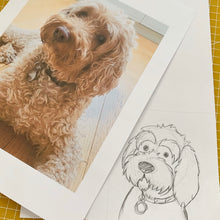 Load image into Gallery viewer, Felt Pet Portraits
