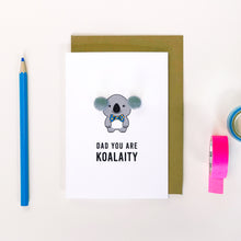 Load image into Gallery viewer, Dad Koala Card