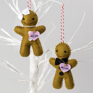 Bride and Groom Christmas Decorations