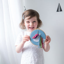 Unicorn Hoop Art Sewing kit