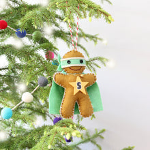 Load image into Gallery viewer, Ninjabread Man Christmas Ornament