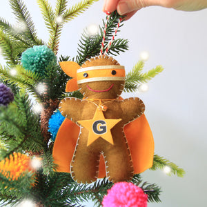 Ninjabread Man Christmas Ornament
