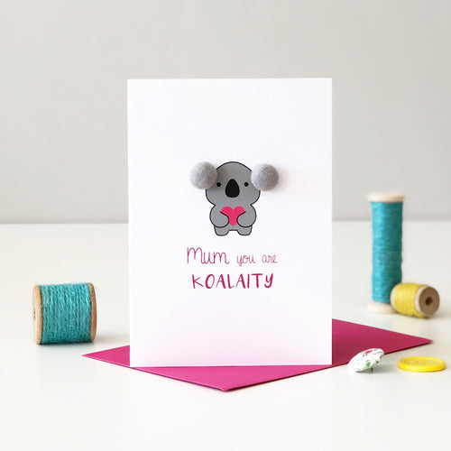 Koala Card for Mum