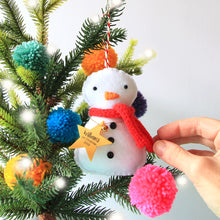 Load image into Gallery viewer, Snowman Christmas Decoration