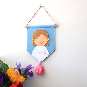 Personalised Teacher Wall Hanging