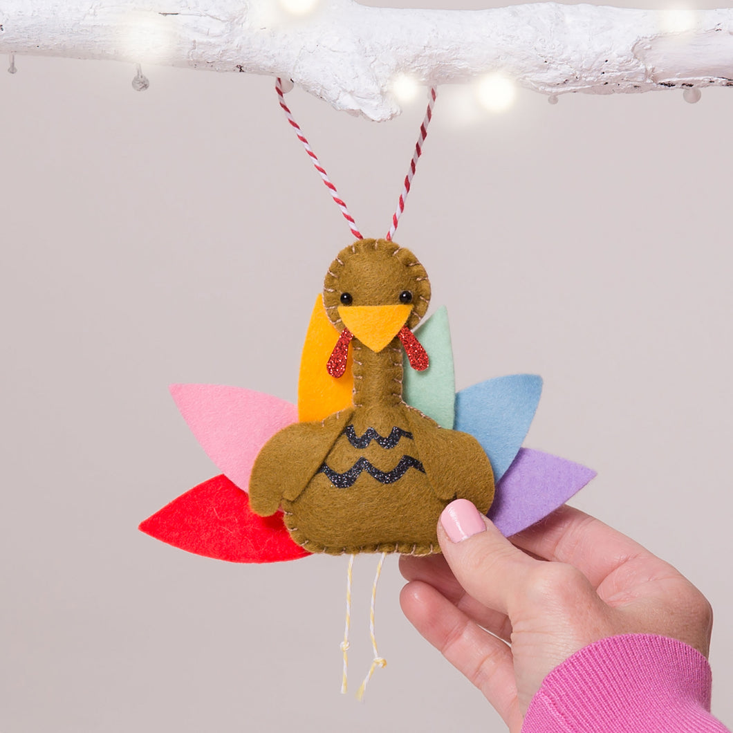 Personalised Thanksgiving Turkey Decoration