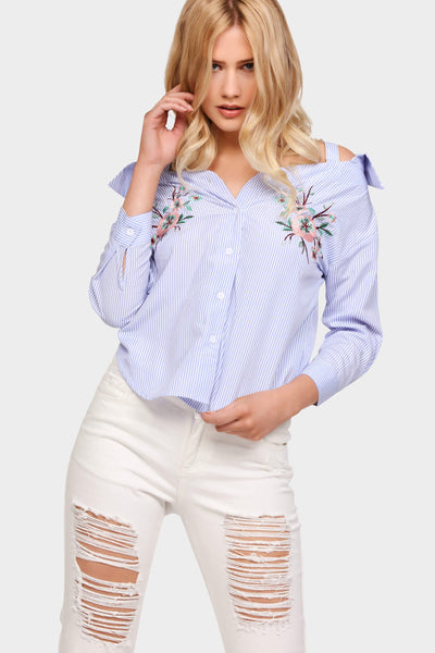 S17W-1000003768-BTE-6-stripe-embroidered-shirt-top-mid-blue-jl1634