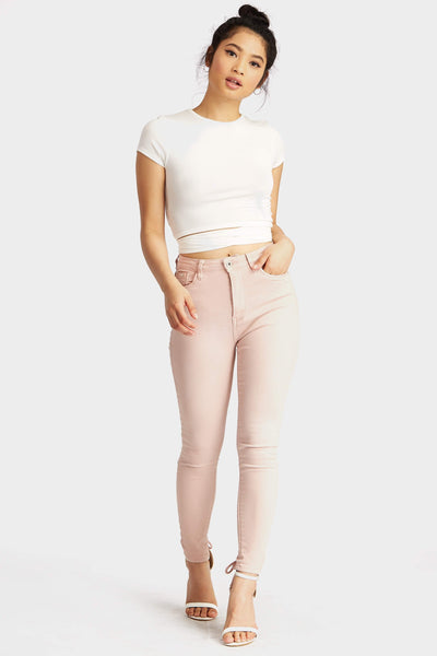 S17W-1200009206-PNK-XS-skinny-jeans-with-lace-up-back-mid-pink-jl4138