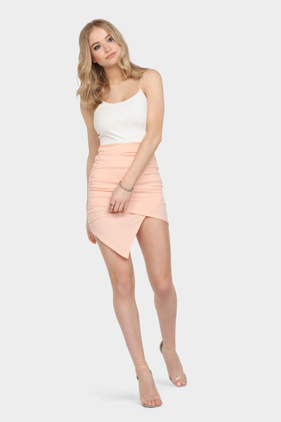 S17W-1300001464-CAM-6-colour-block-ruched-mini-dress-cream-jl0565