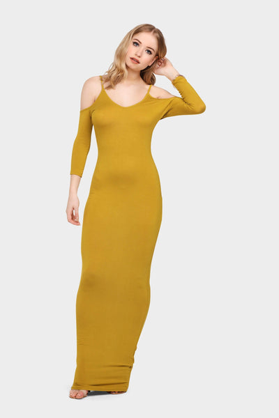 S17W-1300002333-OVE-6-cold-shoulder-v-neck-maxi-dress-mid-green-jl0896