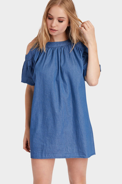 S17W-1300004094-DUE-S/M-denim-cold-shoulder-dress-mid-blue-jl1859