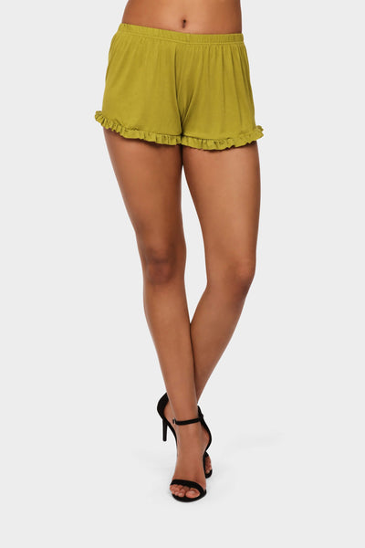 S17W-1800002106-ADO-6-frilly-shorts-mid-green-jl0812