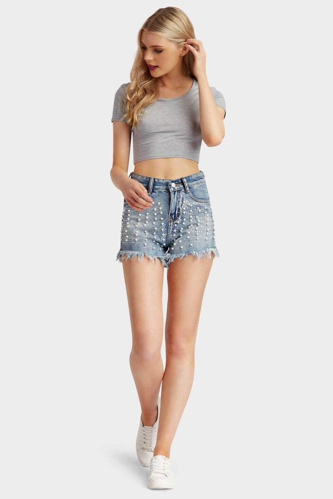 S17W-1800006631-DIM-S-all-over-pearl-shorts-mid-blue-jl3060