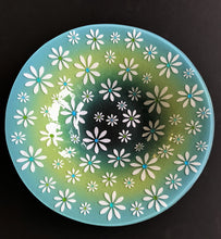 Blue / Green Daisy Bowl