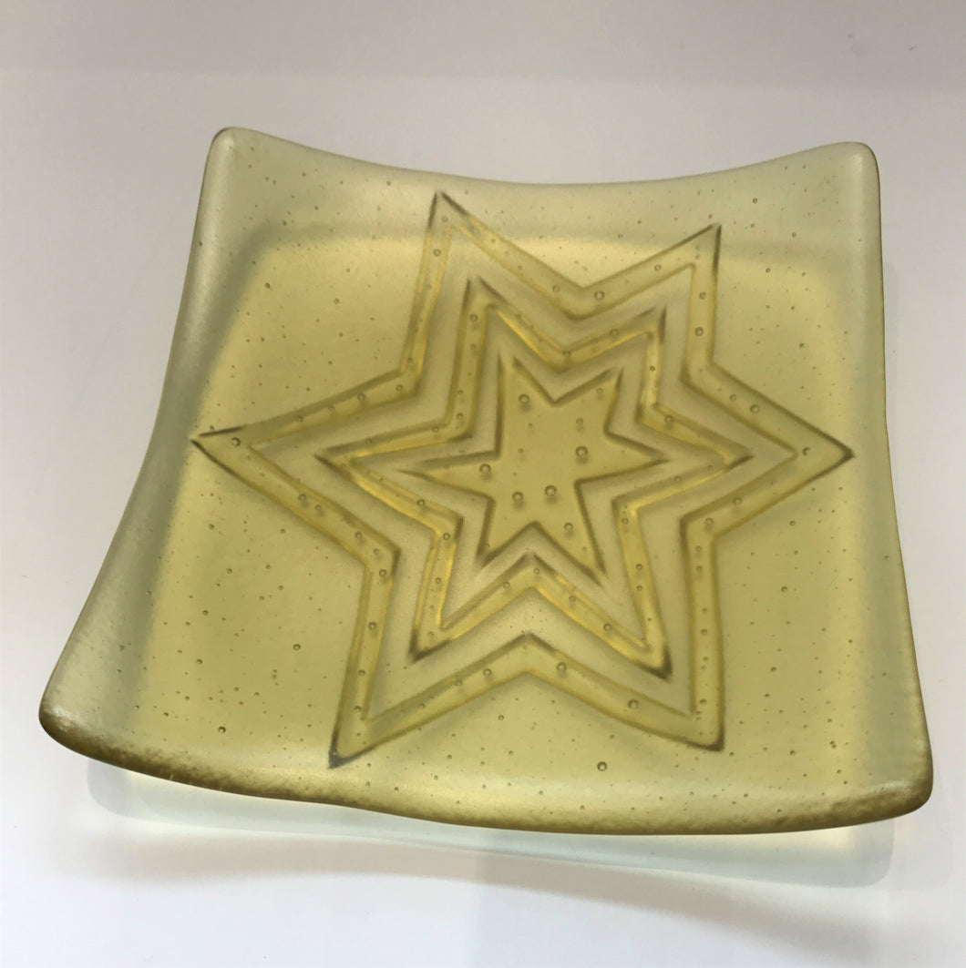 Small Texture Dish (Yellow)