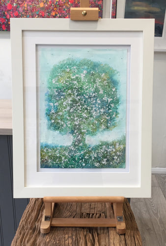 Amazonite Oak by Janet Rogers
