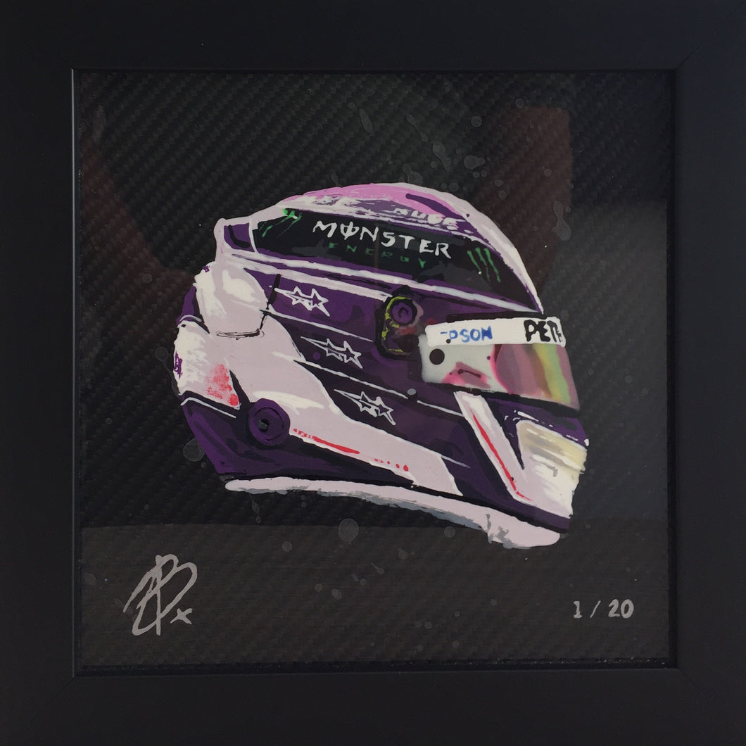 Lewis Hamilton Purple 2020