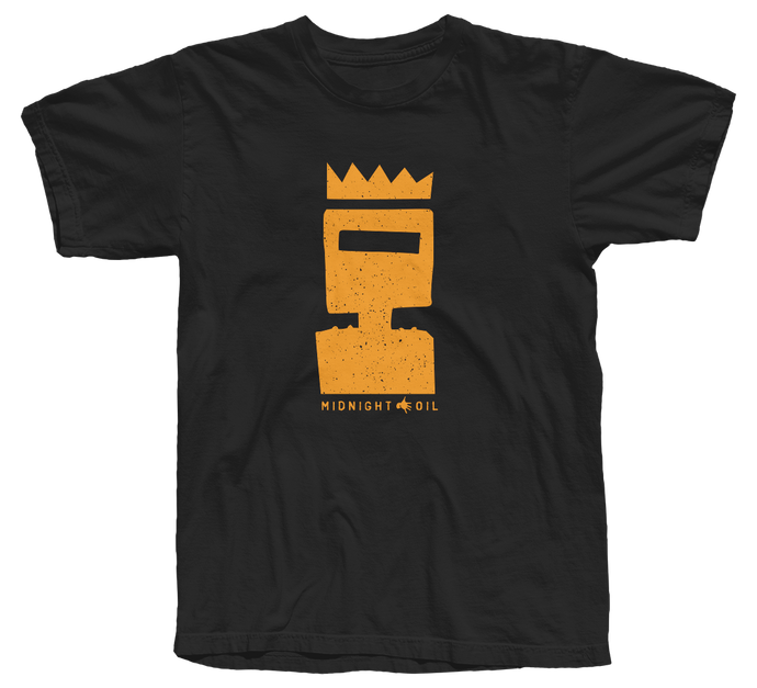 'Ned Kelly' Black T-shirt