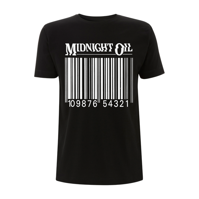 'Barcode' Black T-Shirt