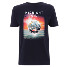 'The Great Circle Globe' 2017 World Tour Mens Navy T-Shirt