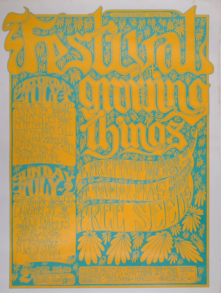 The Festival Of Growing Things July 1967, Marin County, California