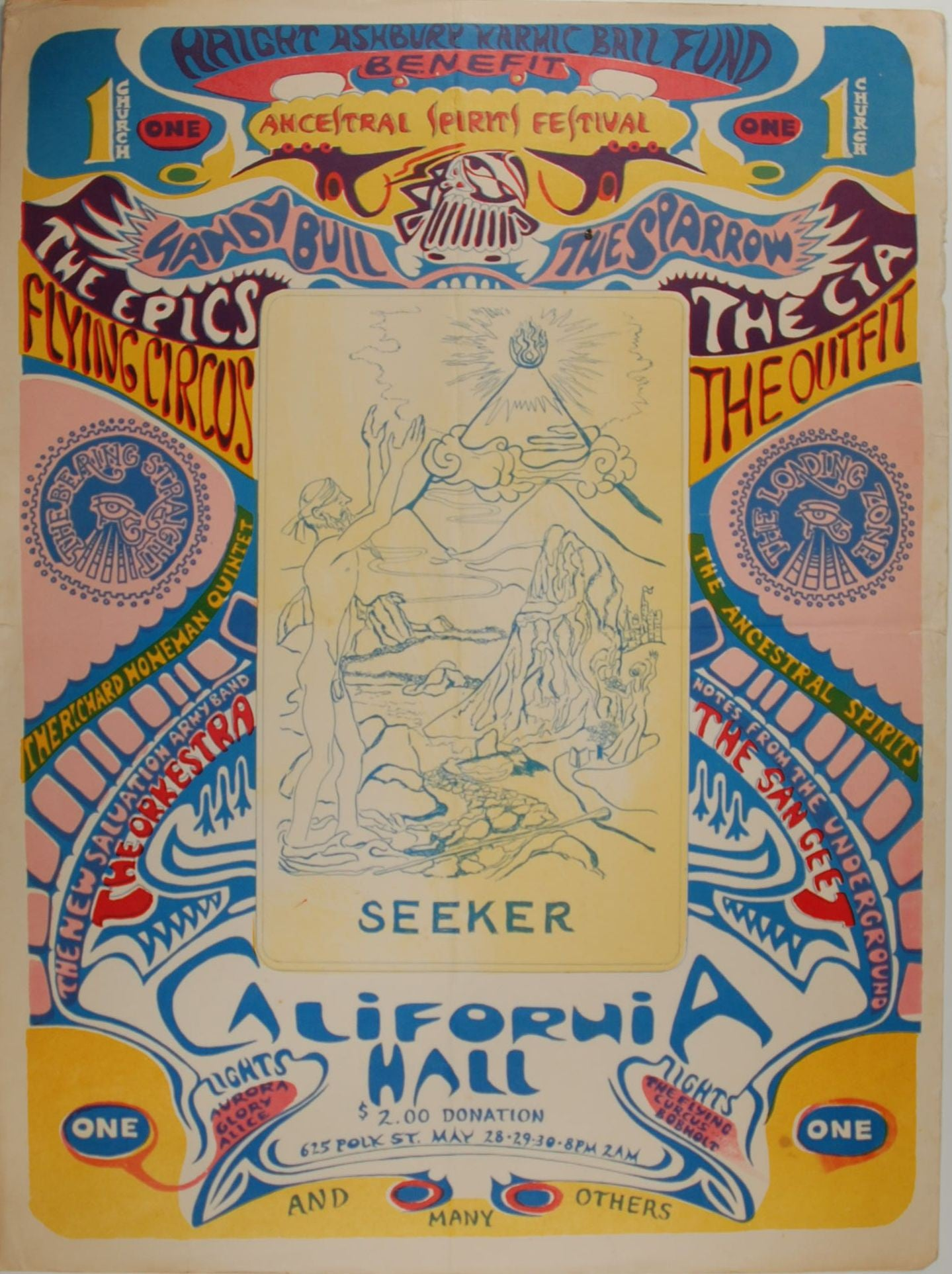 Ancestral Spirits Festival, California Hall, San Francisco 1967