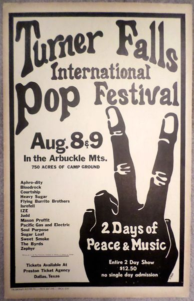 Turner Falls International Pop Festival 1970