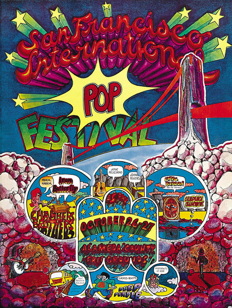 San Francisco Pop Festival, Alameda Fairgrounds, Pleasanton, October 1968