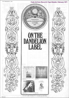 A Short History of Dandelion Records