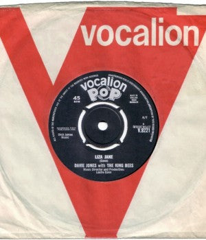 Davie Jones and The King Bees - Liza Jane b/w Louie Louie Go Home