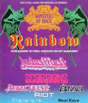 Donington Monsters Of Rock 1980