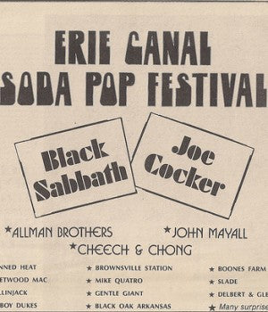 Erie Canal Soda Pop Festival 1972