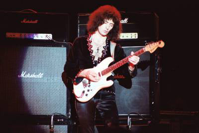 Ritchie Blackmore live on stage at Donington 1980