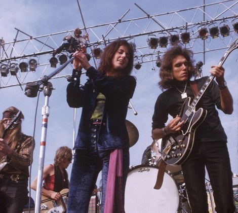 Jefferson Airplane at Altamont