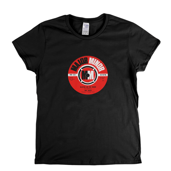 The Taste Blister On The Moon Label Womens T-Shirt