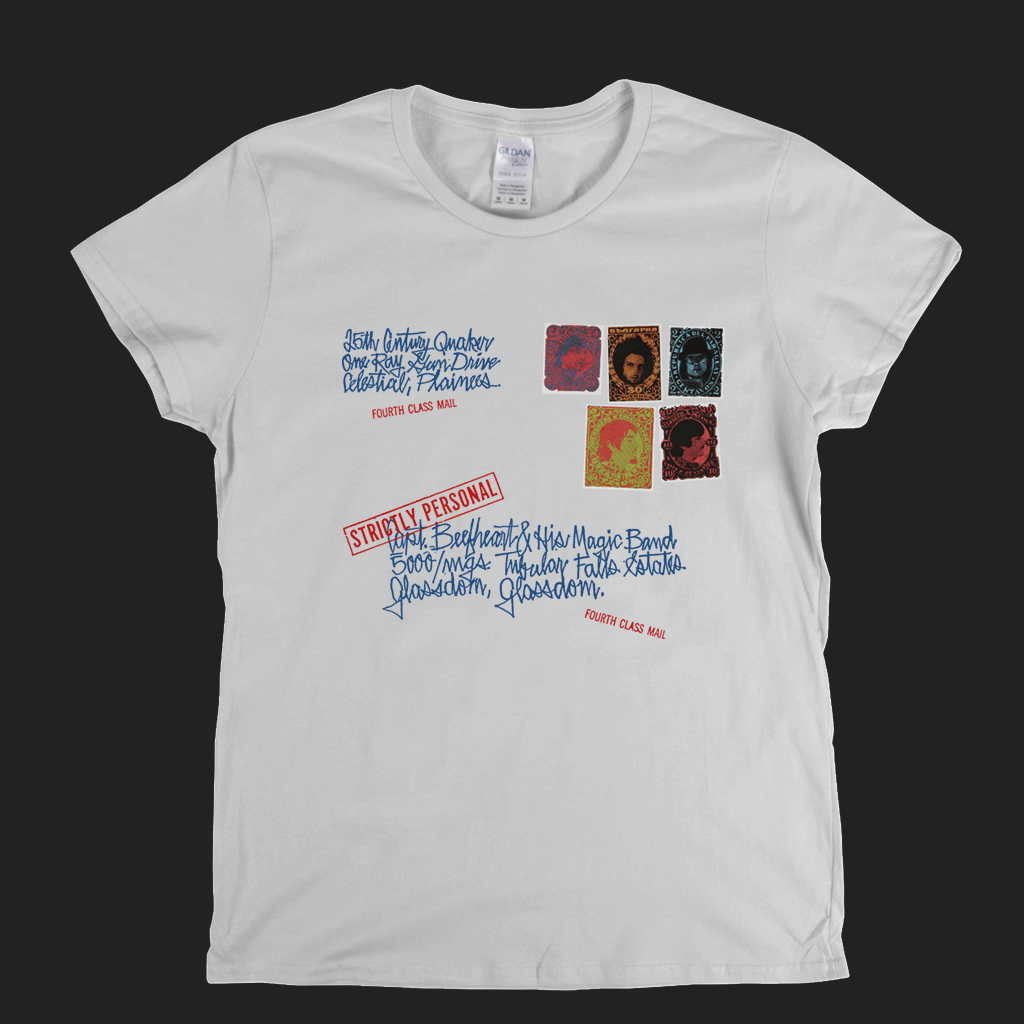 Captain Beefheart Strictly Personal Womens T-Shirt