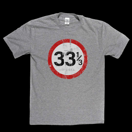 Speed Limit 33 1/3 UK T-Shirt
